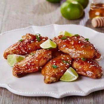 Tumis Sayap ayam dengan madu dan lime