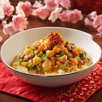 Nasi Goreng dengan Saus XO (Nasi Goreng Fujian)