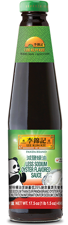 Panda Brand Less Sodium Oyster Flavored Sauce