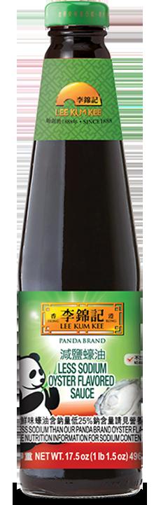 李錦記熊貓牌減鹽蠔油