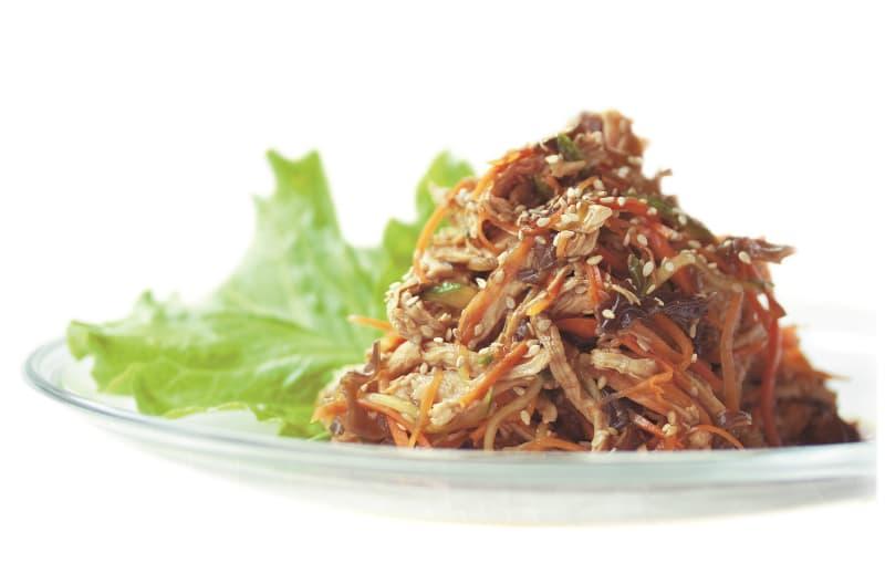 アジア風チキンサラダ