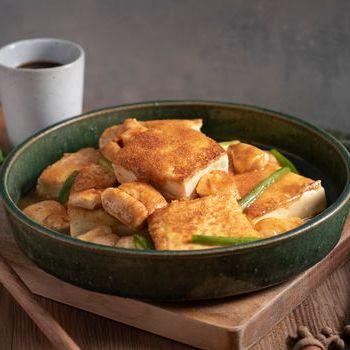 雞柳蝦籽鍋塌豆腐