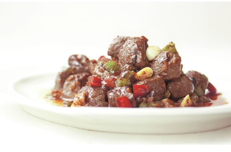 Bœuf avec sauce aux haricots noirs