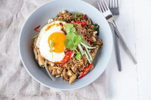 Brown Rice Chicken Nasi Goreng 1 1