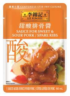 Sauce for Sweet & Sour Pork/Spare Ribs 66ml