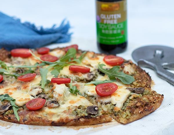 Cauliflower Pizza Recipe with GF SS