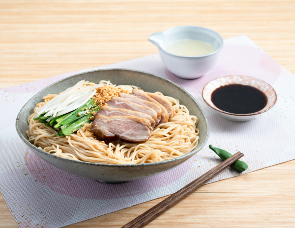 Chinese Yam Noodles with Duck and Vinegar