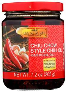 Chiu Chow Style Chili Oil 7.2 oz MS