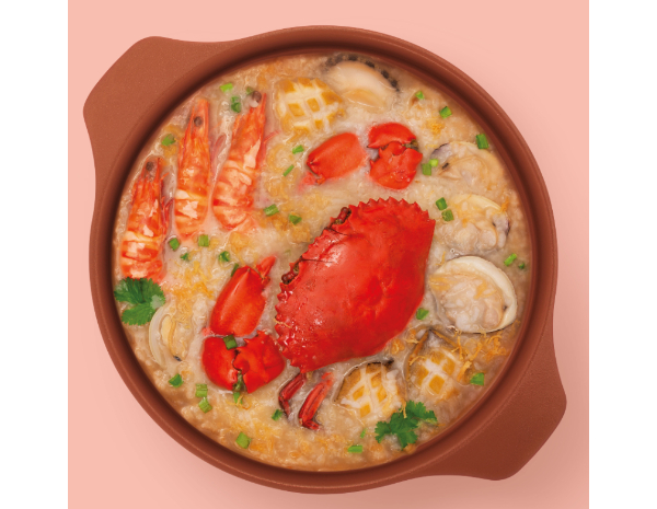 瑤柱海鮮粥底火鍋