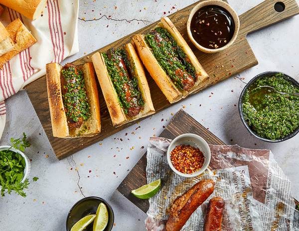 Recipe Choripanes