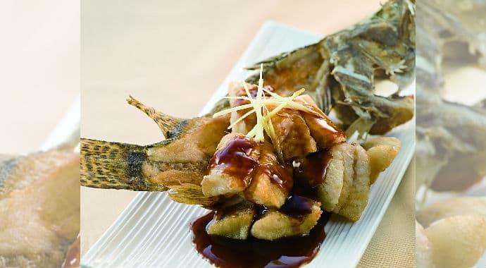 Sweet and Sour Mandarin Fish