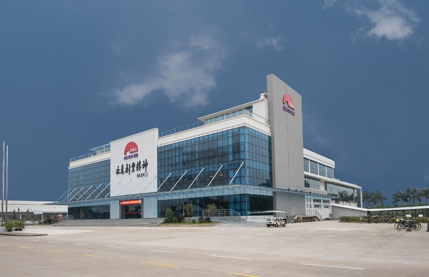 """Entrepreneurship Building"" in Xinhui Production Base"