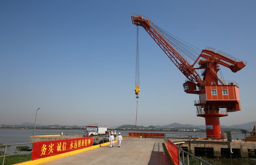 Logistics Centre cum Cargo Pier in Xinhui Production Base