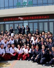"""Lee Kum Kee Management Visits """"Hope as Chef"""" Students in Beijing"""
