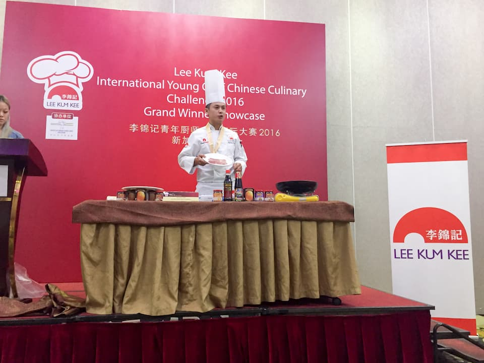 The winner was Singapore's Chef Aaron Tan Kean Loon, whose winning dish, the 'Lee-Kee Classic Beef Tenderloin', brought home the Gold and Distinction Awards.