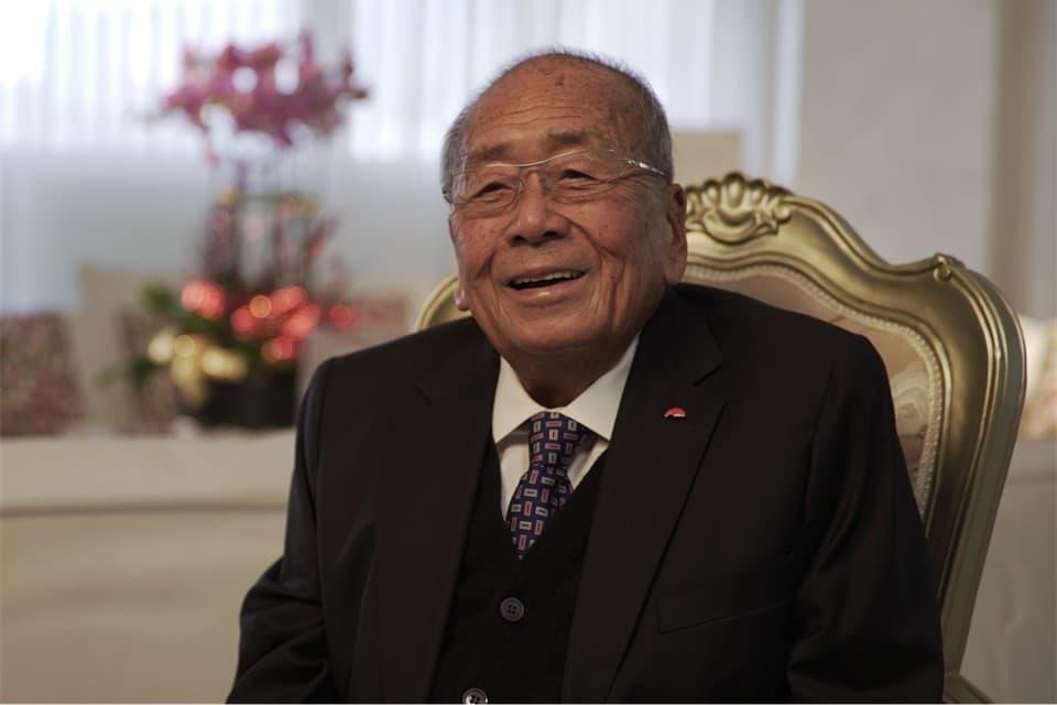 Lee Kum Kee Group Chairman Mr. Lee Man Tat