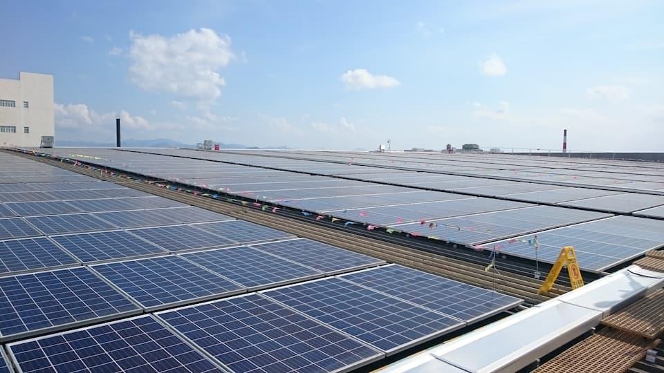 李锦记新会生产基地开展光伏发电节能项目