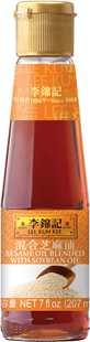混合芝麻油, 7 fl oz (207 mL), 瓶裝