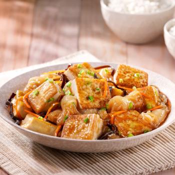 木耳芋絲燴豆腐