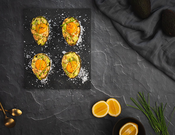 Baked Avocado Salmon  Egg BoatsHero2HR for LKK web