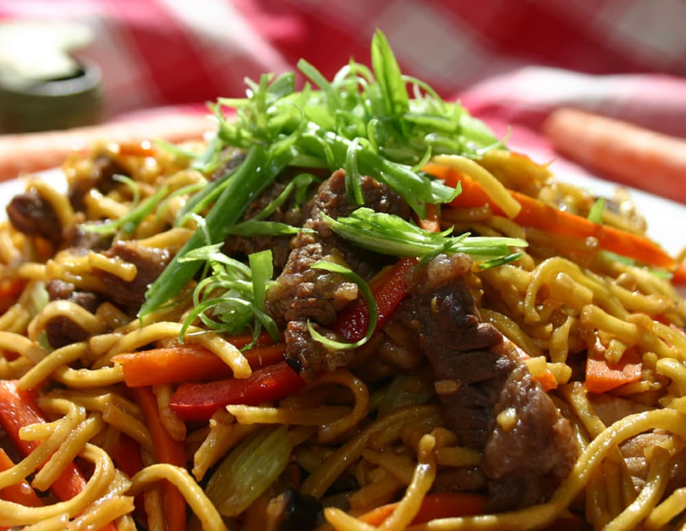 Recipe Beef Chow Mein