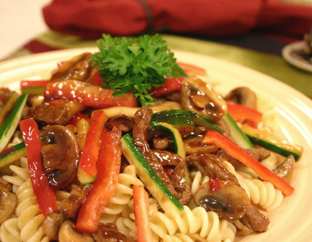 Recipe Beef Vegetable Pasta Rotini
