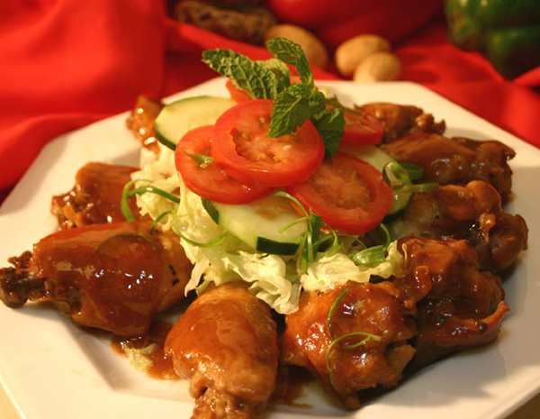 Recipe Braised Chicken Wings