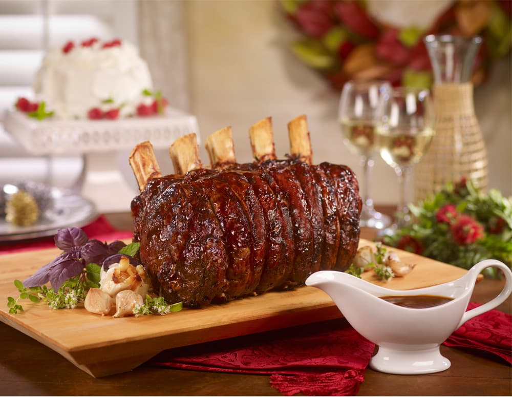 Recipe Holiday Oyster Prime Rib