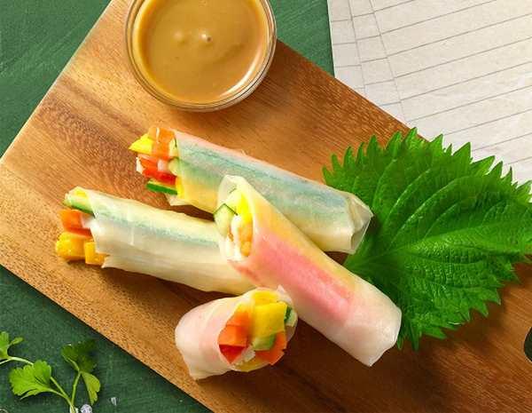 Recipe Cold Vietnamese Spring Roll