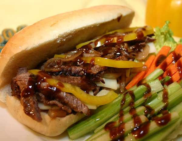 Recipe Philly Steak with Hoisin Sauce