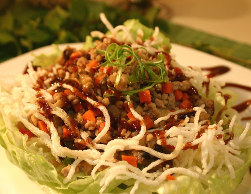 Recipe Pork Lettuce Wrap