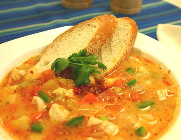 Recipe Spicy Chicken Soup with Lee Kum Kee Chili Garlic Sauce