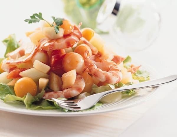 Recipe Sweet and Sour Prawn Salad