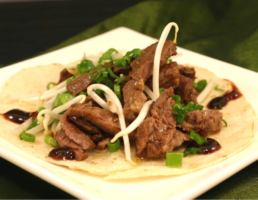 Recipe Sweet Boneless Short Rib Wraps with Lee Kum kee Hoisin Sauce