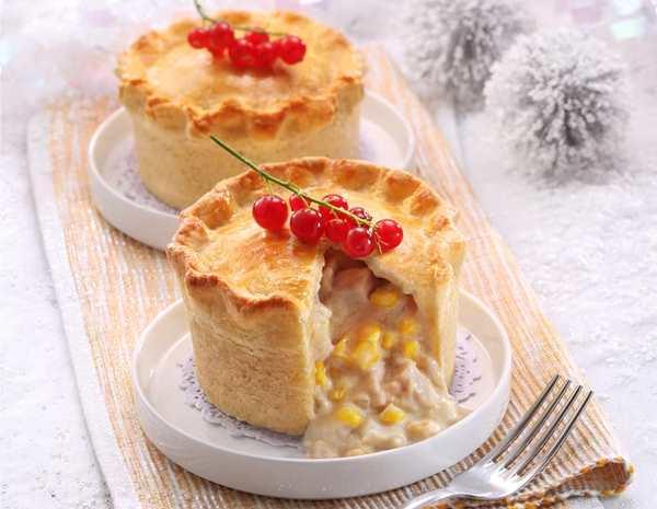 Recipe Turkey and Corn Pie