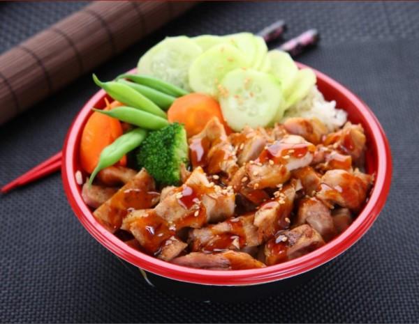 Grilled Chicken in Teriyaki Sauce