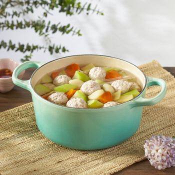 Gassho Melon Soup with Meat Ball