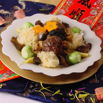 HK_recipe_350_Braised Vegetables with Vegetarian Oyster Sauce