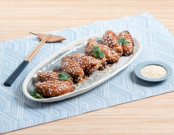 Vinegar and Sesame Chicken Wings