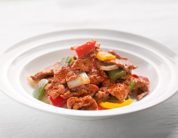 HKrecipe600Hot  Spicy StirFried Beef