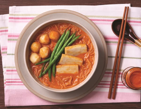 HK_recipe_600_Rice Vermicelli with Fish Balls in Red Curry Soup