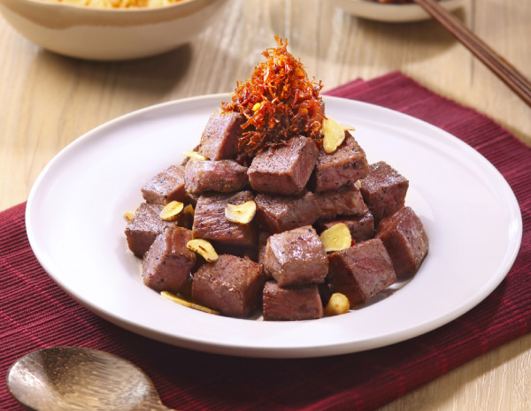 HK_recipe_600_Sauted Diced Beef Tenderloin in XO Sauce