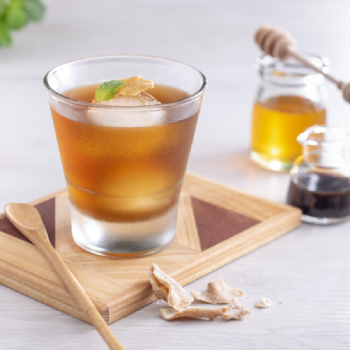 Honey Vinegar with Ginger and Lemon