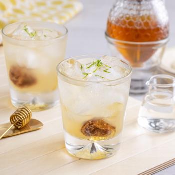 蜂蜜生薑檸檬醋飲