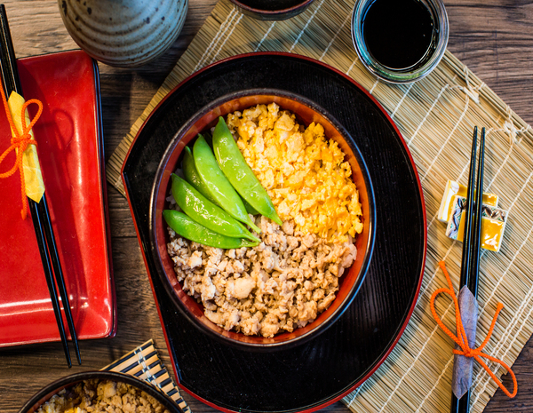 Japanese Chicken and Rice 600 x 465