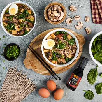 Miso Soba Noodle Soup S