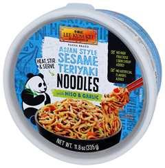 熊貓牌亞洲風味芝麻照燒醬拌麵
