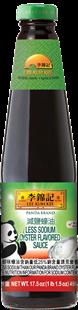 Panda Brand Less Sodium Oyster Flavored Sauce 17.5 oz (496 g)