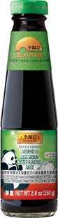 Panda Brand Less Sodium Oyster Flavored Sauce, 8.8oz (250g), Bottle