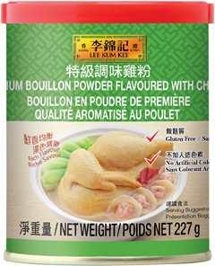Bouillon en poudre de premiѐre qualité aromatisé au poulet 227 g, boîte de conserve